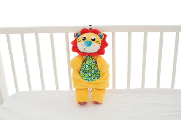 Музикална плюшена играчка за креватче - Лъвче
